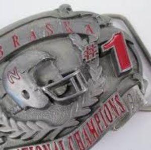 Other - Nebraska 1994 State Championship belt buckle